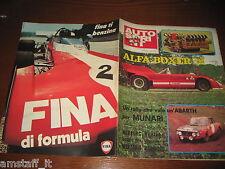 AUTOSPRINT 1972/36=ALFA ROMEO BOXER 12=RALLY S.MARTINO CASTROZZA=MUNARI ABARTH=