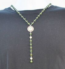 NIGERIA JERSEY NECKLACE, Nigerian Logo Necklace World Cup Football Soccer NEW