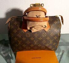 Louis Vuitton  handbag Monogram  SPEEDY 25 Vintage TH0914 Auth Dustbag lockset G
