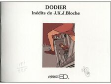 Carnet de croquis Jérome K Bloche JKJ Bloche
