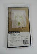 "New Habitat Commonwealth White Valance Hydrangea by Commonwealth 54"" in 16"""