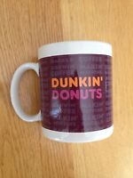 Dunkin Donuts 1997 Ceramic Ground Coffee Tea Collectible Cup Mug New in Box