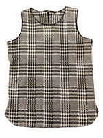 M&S Ladies Black Ivory Jacquard Sleeveless Tunic Top Size 8 10 12 14 16 18