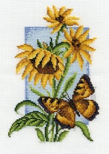Cross Stitch Kit Tortoiseshell (butterfly) B-0118