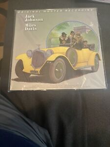 Miles Davis Jack Johnson LP Mobile Fidelity MOFI Vinyl Out Of Print #4272 New