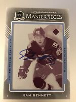2015-2016 UD THE CUP Sam Bennett AUTO PRINTING (Print) PLATE ROOKIE RC 1/1
