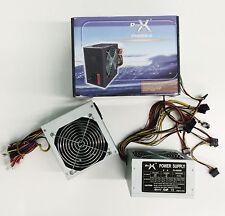 ALIMENTATORE 600W PC CASE ATX 24 PIN VENTOLA 12 CM 3 SATA 2 IDE DESKTOP
