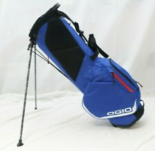 New Ogio Shadow Fuse 304 4-Way 2019 Stand Carry Golf Bag - Royal Blue