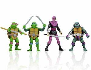 Ninja Turtles IN Time Tmnt 7 1/8in Wave 1 NECA 54104