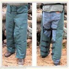 "Chain Saw Safety Chaps,Wrap Around Style,Medium 37"" Leg Length,OSHA Approved"