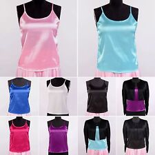 Womens Girls 16 Momme 100% Pure Silk Camisole Cami Tops  Size 8-26 Sisters Silk