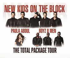 Concert Posters # 23 - 8x10 T-shirt iron-on transfer NKOTB/P.Abdul/Boyz II Men
