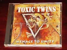 Toxic Twins: Menace To Unity CD 1996 Flip Productions France FP 524382 Original
