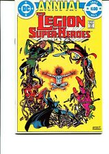 THE LEGION OF SUPER HEROES ANNUAL #1 VF.NM
