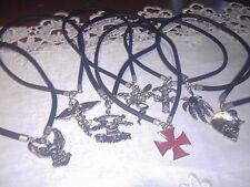 bulk lot of 20 gothic necklaces