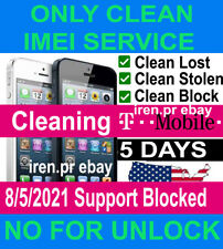 T-MOBILE SERVICE IMEI IPHONE 12 11 7/8/X/XS/XS MAX& SAMSUNG UNBARRING insurance