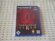 Forbidden Siren für Playstation 2 PS2 PS 2 *OVP*