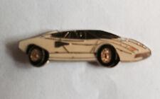 1981 Lamborghini Countach Car Auto Club Jacket Hat Biker Vest Lapel Pin