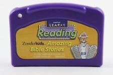 Leap Frog LeapPad Zonderkids Amazing Bible Stories / Leap 1 Reading ~ Cartridge