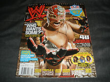 Wwe Magazine July 2008 Rey Mysterio Mick Foley Mr Kennedy Divas Wwf Wrestling