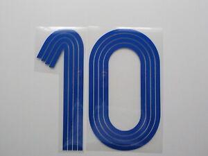 Flocage N° 10  pour maillot équipe de France 2006 patch shirt