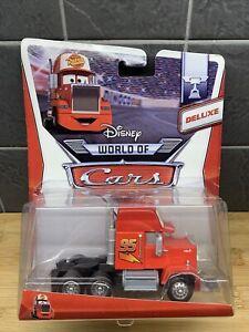 Mack Semi Deluxe - Disney Pixar World Of Cars 9/16 | New On Card | Free UK P&P