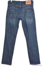 Levis 511 Mens Jeans Cotton Blue Zip Fly Denim Pants 5 Pocket Red Tab 32 x 30