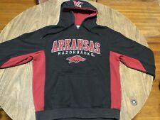 Arkansas Razorbacks Red & Black Medium Hoodie Sweatshirt