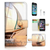 ( For iPhone 7 ) Wallet Case Cover P1191 Sailor