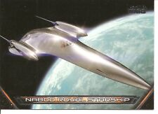 Star Wars Galactic Files Naboo Royal Starship Vehicles Insert Trading Card V-11