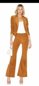 Free People Heidi Women Two- Piece Set Cord Brown Suit Size 8