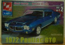 1972 PONTIAC GTO 1:25 SCALE MODEL KIT BY AMT ERTIL....NIB!