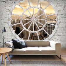 VLIES FOTOTAPETE Steinwand New York TAPETE TAPETEN Schlafzimmer WANDBILD 3 Farbe