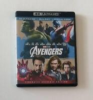 Marvel's The Avengers (4K Ultra HD Blu-ray/Blu-ray Disc, 2012) No Digital Code