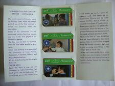 BT 5u Phonecard - BTG 018, 019 & 020 - Ghosts, Spirit & Hope + Brochure - UNUSED