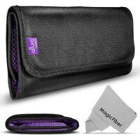 Altura Photo Premium 6-Pocket Camera Filter Holder Case Pouch for Canon Nikon