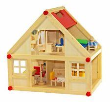 Freda Puppenhaus + Puppenhausmöbel Puppenmöbel 28 Teile + Familie + Hussen