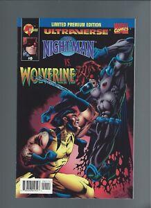 Nightman v. Wolverine  #0 Limited Premium Ed. Mint 9.6+ Direct Edition w/UPC