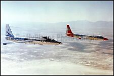 USAF Lockheed U-2 Dragon Lady 2-Ship Edwards AFB 1961 8x12 Photos