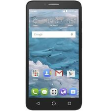 New Cricket Wireless Alcatel OneTouch Flint 4G LTE HD 16GB Prepaid Smartphone