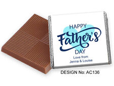 50 Personalised Fathers Day Favours - Unique Gift, Large Selection & Free Post