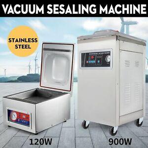 Vakuumierer Vakuumiergerät Vakuummaschine Kammer Rostfreier Stahl