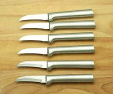 """RADA SET OF SIX R100 GRANNY PARING KNIFE BLADE 2-3/8"""" OVERALL 5-7/8"""" USA MADE"""