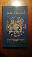 HISTOIRE DES MINERAUX MINERALOGIE  BIBLIOTHEQUE DES MERVEILLES PLANCHES 1867