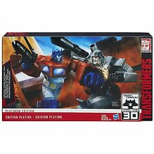 Transformers Platinum Edition 30th Anniversary Optimus Prime VS Megatron Box Set