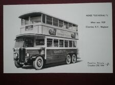 POSTCARD RP LONDON GENERAL L TYPE BUS 1929