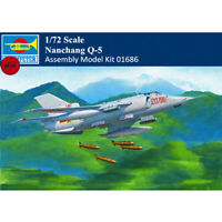 Trumpeter 01686 1/72 Chinses PLA Nanchang Q-5 Attack Aircraft Assembly Model Kit