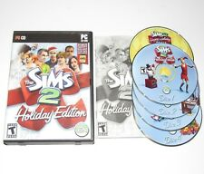 The Sims 2 Holiday Edition PC Game Expansion Pack 2006 Complete + Stuff