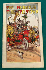 1920's? HIRES ROOT BEER EXTRACT  - THE ANIMALS TRIP TO TOWN BOOKLET