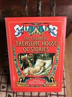 Vintage Children's Story Book - The Children's Treasure House of Stories - 1986